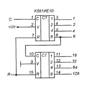 Схема сигнализатора шума